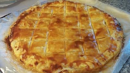 Recette de galette des rois aux pommes