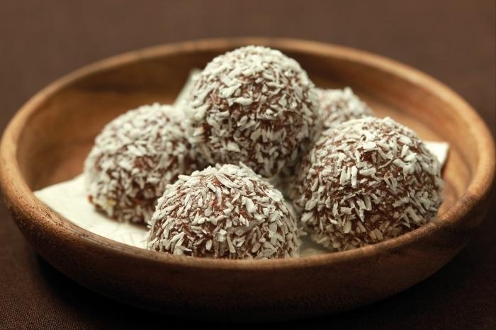 Recette de bouchée de chocolat et noix de coco facile et rapide