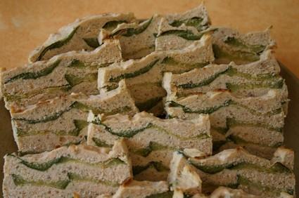 Recette de terrine de saumon aux courgettes