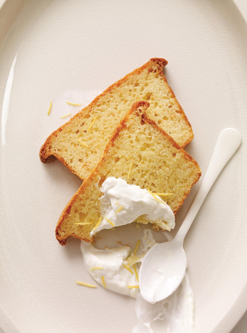 Cake au citron et au yogourt | ricardo