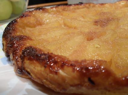 Tatin de pommes au caramel de spéculoos