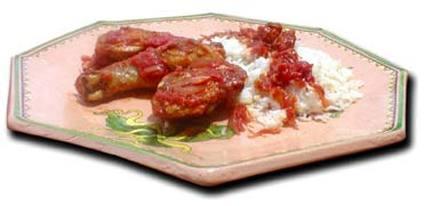 Recette de poulet malgache