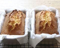 Recette mini-cake au bacon et petits pois