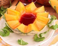 Recette melon au porto