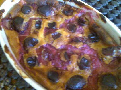 Recette de clafoutis rustique aux prunes