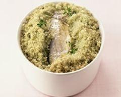 Recette bar en croûte de sel au thym