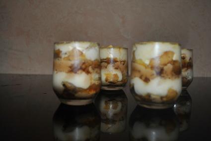 Recette de tiramisu pommes caramel beurre salé