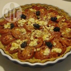 Recette tarte à la tomate et sa pâte à l'huile d'olive rapide – toutes ...