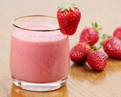 Recette milk shake fraise cerise vanille