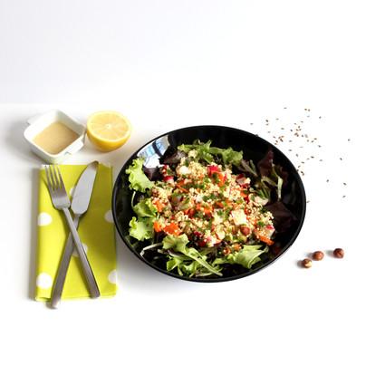 Recette de salade de millet automnale