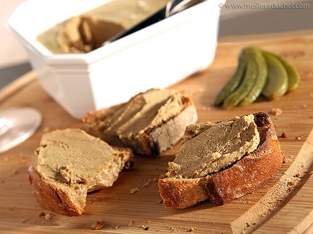Mousse de foie de volaille  fiche recette avec photos ...