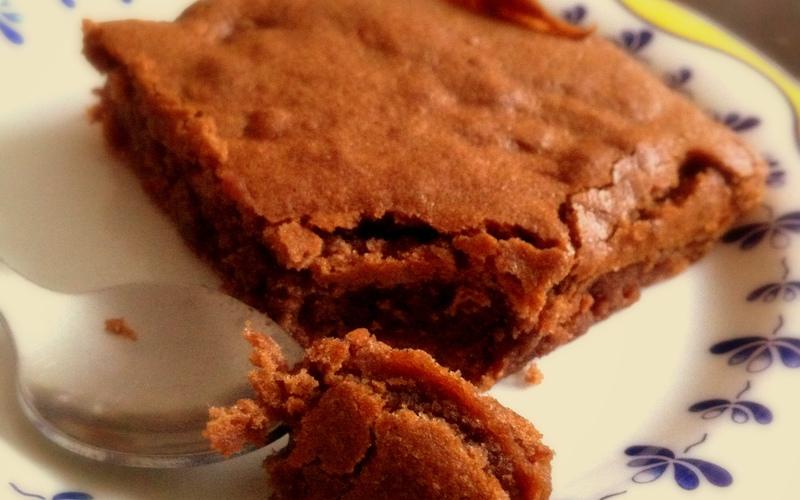 Recette brownies aux marrons pas chère et facile > cuisine étudiant