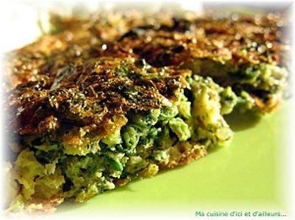Recette omelette aux herbes