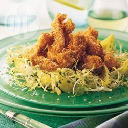 Recette salade de poulet pané au sésame – toutes les recettes ...