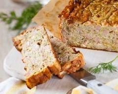 Recette cake au jambon à la mozzarella