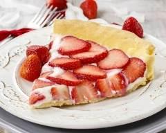 Recette tarte aux fraises, ricotta et mascarpone