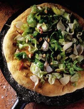 Pizza à la scarole pour 4 personnes