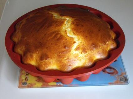 Recette de gâteau léger au fromage blanc et aux pommes