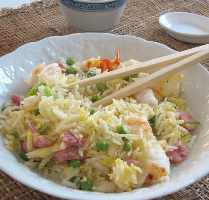 Recette de riz frit à la chinoise (cantonais)
