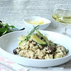 Recette risotto aux courgettes et aux champignons – toutes les ...