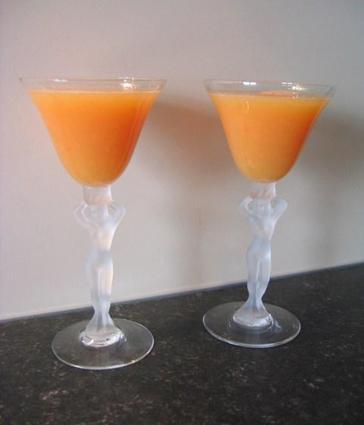 Recette de cocktail d'agrumes