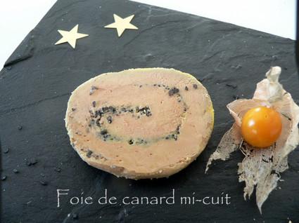 Recette de foie gras de canard mi-cuit