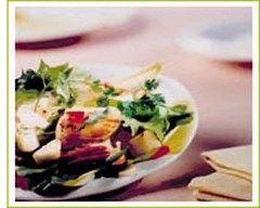 Recette salade de poires aux noix de saint-jacques