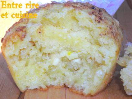 Recette de muffins au citron et chocolat blanc
