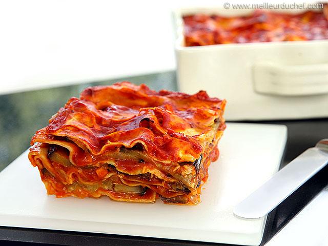 Lasagnes aux aubergines  fiche recette avec photos ...