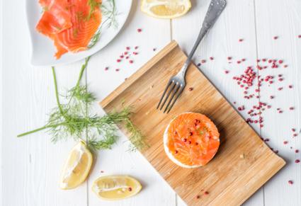 Recette de cheesecake au saumon