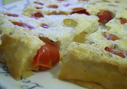 Recette de tatin tomates-cerises et feta