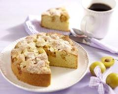 Recette gâteau aux mirabelles à l'amande