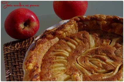 Recette de tarte amandine aux pommes de cyril lignac
