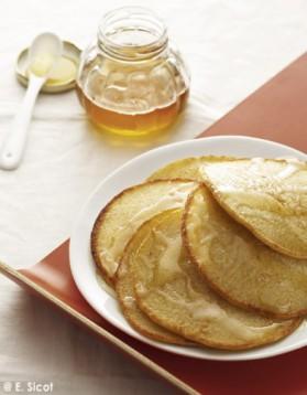 Pancakes à la semoule pour 4 personnes