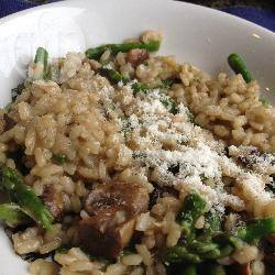 Recette risotto aux asperges et aux champignons – toutes les ...