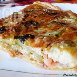 Recette quiche au saumon et courgettes – toutes les recettes ...