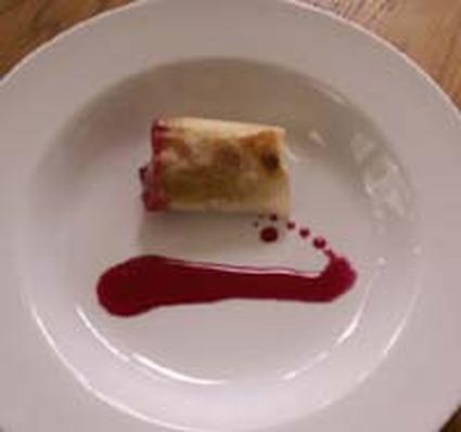 Recette de nems de foie gras et leur caramel de betterave