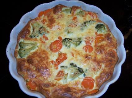 Recette de flan de carottes et brocolis