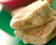 Recette houmous facile en pain pita