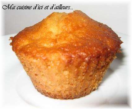 Recette de muffins pommes-poires