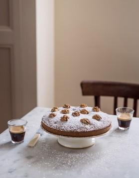 Gâteau aux poires et noix pour 8 personnes
