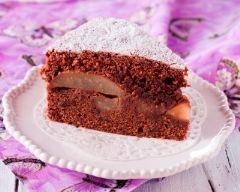Recette gâteau pommes chocolat