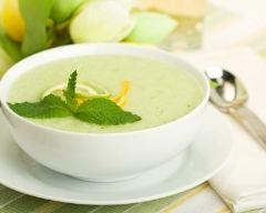 Recette soupe de melon vert à la noix de coco