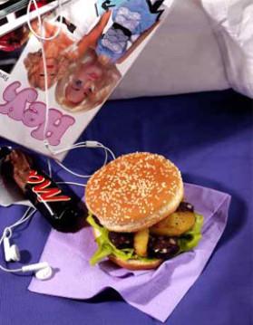 Boudin burger pour 4 personnes