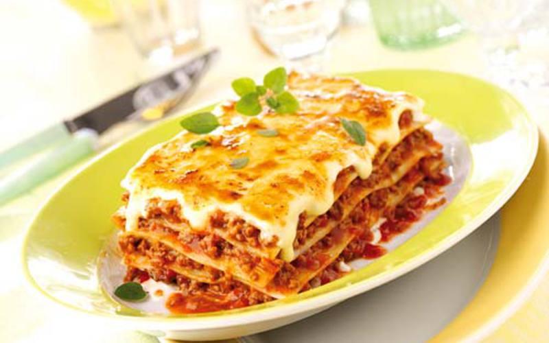Recette lasagnes économique > cuisine étudiant