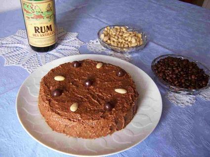 Recette de gâteau au café, amandes et chocolat