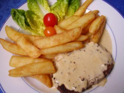 Recette de steak au poivre