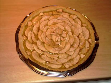 Recette de tarte aux pommes trop simple