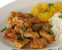 Recette poulet tikka à l'indienne