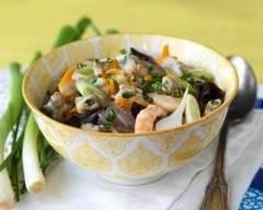 Bouillon de vermicelles aux coques | cuisine az
